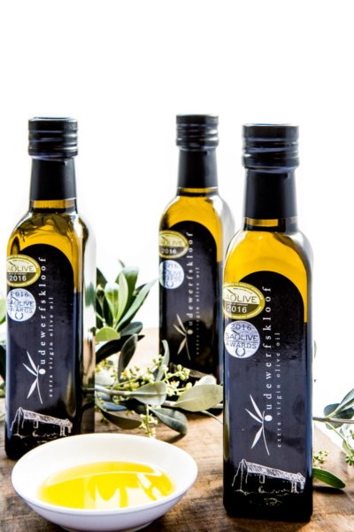 Oudewerfskloof Farm's Extra Virgin Olive Oil & Olive Products