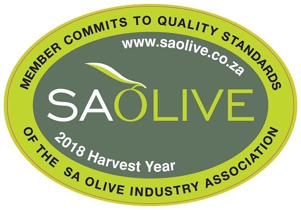 Oudewerfskloof Farm's SA Olive 2018 Award